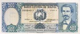 Bolivia 500 Bolivianos, P-165a (1.6.1981) - UNC - Bolivien