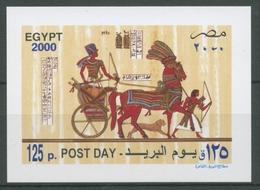 Ägypten 2000 Tag Der Post Pharao Ramses II. Block 70 Postfrisch (C27280) - Blocks & Sheetlets