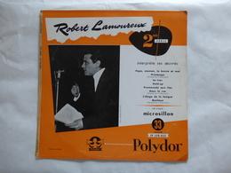 25 CM  ROBERT LAMOUREUX  LABEL POLYDOR LP 530.023 PAPA MAMAN LA BONNE ET MOI - Rock