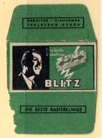 Rasage. Razor Blade. Lame De Rasoir. Lame Blitz. Solingen, Germany. - Lames De Rasoir