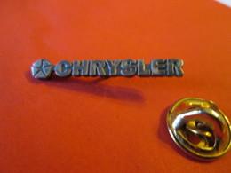 PIN'S    CHRYSLER - Badges
