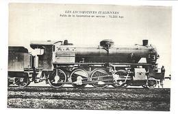 TRAIN - LES LOCOMOTIVES ITALIENNES - Trains