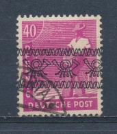 Duitsland/Germany All. Bezetting/ All Occupation Bizone 1948 Mi: 47 I Yt: 32 II (Gebr/used/obl/o)(3708) - Amerikaanse-en Britse Zone