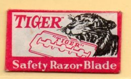 Rasage. Razor Blade. Lame De Rasoir. Lame Tiger, Safety Razor Blade. - Lames De Rasoir