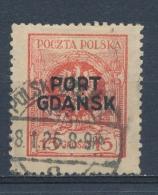 Polen/Poland/Pologne Port Gdansk 1925 Mi: 6 (Gebr/used/obl/o)(3721) - Portomarken