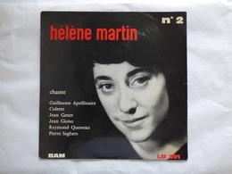 25 CM HELENE MARTIN  BAM LD 391 LE CONDAMNE A MORT - Rock