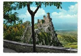 REPUBBLICA SAN MARINO CON F.BOLLI OLIMPIADE TOKIO 64  - PANORAMA - VIAGGIATA  FG - San Marino