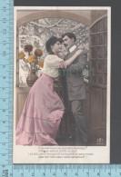 CPA Fantaisie  Couple Amoureux, Femme Homme, D'ou Viennent Ces Pensées Moroses ? -  ED: AS 490/2 - Femmes