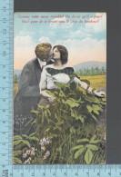 CPA Fantaisie  Couple Amoureux, Femme Homme, Comme Mon Coeur Tremble .. - ED: Sans Nom 264 - Femmes