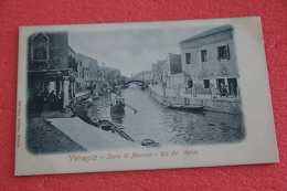 Isola Di Murano Venezia Rio Dei Vetrai NV Primi Anni 1900 - Italia