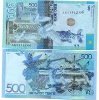 Kazakhstan - 500 Tenge 2017 UNC Ukr-OP - Kazachstan