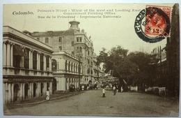 RUE DE LA PRINCESSE - IMPRIMERIE NATIONALE - COLOMBO - Sri Lanka (Ceylon)