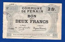 Fenain  1915   2 Fr  59/961 - Bonds & Basic Needs