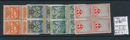 NETHERLANDS PAYS-BAS YVERT 186/89 MNH - 1891-1948 (Wilhelmine)