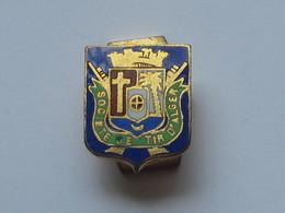 Ancienne Boutonnière  émaillé - A Identifier   ***** EN ACHAT IMMEDIAT **** - Médailles & Décorations