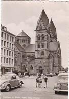 E052 COBLENCE - KOBLENZ A RHEIN - Herz Jesu Kirche - L'Eglise Et La Banque - Véhicules Garés - Koblenz