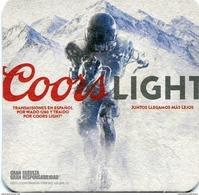 Lote U60 USA, Posavaso, Coaster, Coors Light, NY Giants - Portavasos