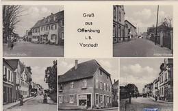 E058 GRUB AUS OFFENBURG - Vorstadt - Rues Et Commerces De Proximité - ORTENAU - Multivues - Offenburg