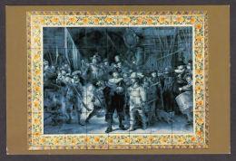 89251/ Carreaux De Delft, *Rembrandt, Nightwatch-Ronde De Nuit* - Arts