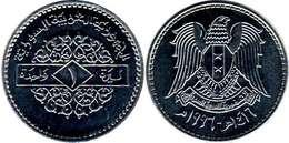 Syria - 1 Pound 1996 UNC Bank Bag - Syrië