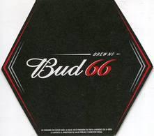 Lote Pa31, Paraguay, Posavaso, Coaster, Budweiser, Bud 66, Irregular - Portavasos