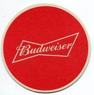 Lote Pa35, Paraguay, Posavaso, Coaster, Budweiser, Roja, Redonda - Portavasos
