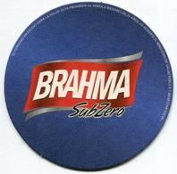 Lote Pa24, Paraguay, Posavaso, Coaster, Brahma, Subzero - Portavasos