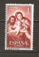 España/Spain-(MNH/**) - Edifil 1253 - Yvert 942 - 1951-60 Unused Stamps