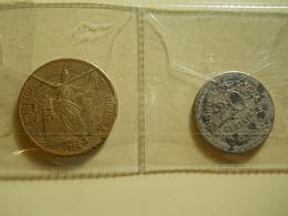 Portugal 1 Escudo 1924 + 20 Centavos 1921 - Portogallo
