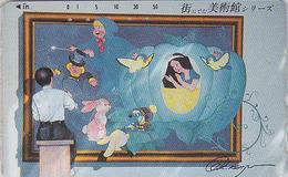 Télécarte Japon / 110-011 - DISNEY Rel. - Film - BLANCHE NEIGE Alice Lapin Fee - SNOWWHITE - Disney