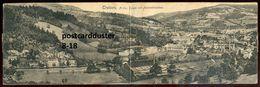 1667 - AUSTRIA Traisen 1930s Feinstahlwerken Panorama. Double Postcard - Sonstige