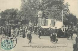 """CPA FRANCE 25 """"Besançon, Funérailles Des Victimes De La Catastrophe Du Fort De Montfaucon """" - Besancon"""