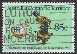 Australian Antarctic Territory SG62 1984 Expedition 85c Good/fine Used [3/3293/6D] - Australian Antarctic Territory (AAT)