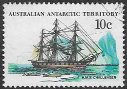 Australian Antarctic Territory SG40 1981 Definitive 10c Good/fine Used [38/31183/6D] - Australian Antarctic Territory (AAT)