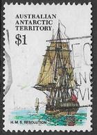 Australian Antarctic Territory SG52 1980 Definitive $1 Good/fine Used [16/14974/6D] - Australian Antarctic Territory (AAT)
