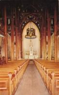 Nevada Virginia City St Mary's Curch Interior