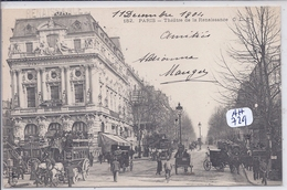 PARIS X- THEATRE DE LA RENAISANCE- CLC 182 - Arrondissement: 10