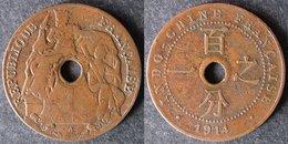 INDOCHINE  1 Cent 1914  INDOCINA  INDOCHINA   Envoi Gratuit - Camboya
