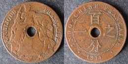 INDOCHINE  1 Cent 1914  INDOCINA  INDOCHINA   Envoi Gratuit - Laos