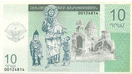 Nagorno Karabakh - 10 DRAM - 2004 - UNC. - Pick ??? - Nagorno Karabakh