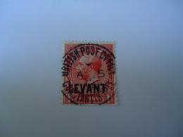 BRITISH LEVANT POSTMARK CONSTANTINOPLE - Britisch-Levant