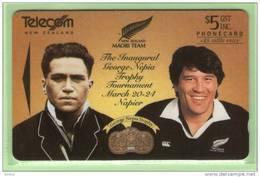 New Zealand - 1994 Maori Rugby $5 - Mint - NZ-F-25 - New Zealand
