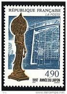 N° 3110  Année 1997  Année Du Japon  Faciale 4,90 Francs - Neufs