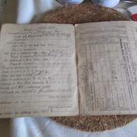 Ww1 US Soldier's Pay Book - 1914-18
