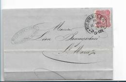 EL142 / Elsass, Gebweiler, Hufeisenstempel Auf Pfennige 1878 - Allemagne