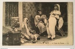 SCENE ET TYPES - LA DANSE DU VENTRE  - CARTOLINA SPEDITA CON ANNULLO MISSIONI SALESIANE 1975  FP - Cartoline