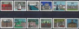German Federal Republic 1964/65 - Capitals Of The Federal Lands ( Mi 416/27 - YT 288/95D ) MNH** Complete Series - [7] République Fédérale