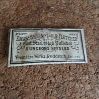WW1 British Surgical Needles - 1914-18