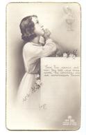 Devotie Dévotion - Communie Communion - Liliane Pauwels - Zomergem 1944 - Communion