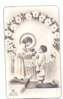 Devotie Dévotion - Communie Communion - Marc De Keyzer - Zomergem 1956 - Communion